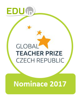 Nominace na cenu Global Teacher Prize Czech Republic 2017
